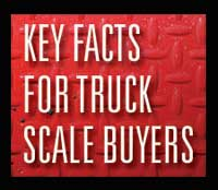 key facts for truck scale buyers